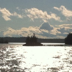 Photo taken at Cathance Lake, Maine by Carmen B. on 8/8/2011