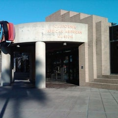 Photo taken at California African American Museum by JR J. on 2/28/2011