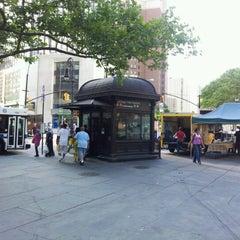 Photo taken at MTA B41 (Borough Hall) by Kaz K. on 7/12/2012