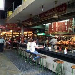 Photo taken at Mercado del Puerto by Alejandro Jesús N. on 2/20/2012