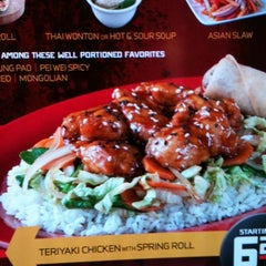 Photo taken at Pei Wei by Monte K. on 8/28/2011
