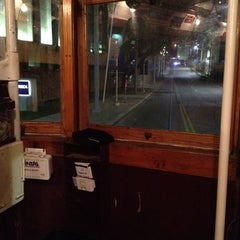 Photo taken at M-Line Trolley by John S. on 1/24/2012