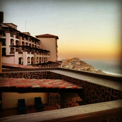 Photo taken at Pueblo Bonito Sunset Beach Resort & Spa by Rob R. on 5/20/2012
