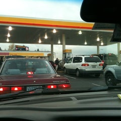 Photo taken at Shell by Adam W. on 12/2/2011