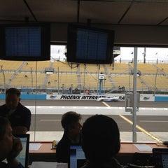 Photo taken at Phoenix International Raceway by Jeff G. on 11/11/2011