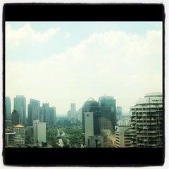 Photo taken at Permata Bank Tower Sudirman by Raden Wishnu W. on 11/12/2011