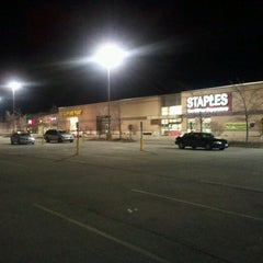 Photo taken at Staples - CLOSED by John M. on 2/9/2012