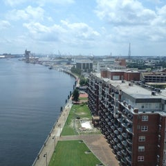 Photo taken at Renaissance Portsmouth-Norfolk Waterfront Hotel by Carol A. on 7/23/2012