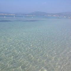 Photo taken at Lido di Alghero by Francesco G. on 9/7/2012