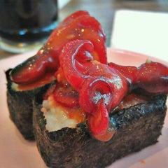 Photo taken at Octopus Sushi Bar & Thai by suzie on 2/25/2012
