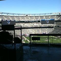 Photo taken at Verizon Corner Suite - MetLife Stadium by Michael L. on 10/30/2011