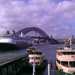 Photo taken at Circular Quay Ferry Terminal by Mel E. on 12/20/2011