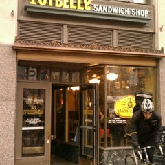 Photo taken at Potbelly Sandwich Shop by Qatadah N. on 12/15/2011