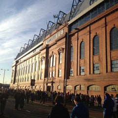 Photo taken at Ibrox Stadium by Murray B. on 3/30/2012