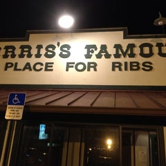 Photo taken at Norris's Ribs by Jen Barson &. on 2/13/2012