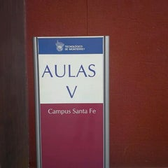 Photo taken at Aulas V - ITESM CSF by GaReto V. on 2/11/2012