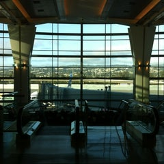 Photo taken at Gate A12 by Jessica M. on 5/2/2012