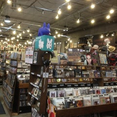Photo taken at Twist & Shout Records by Dusty T. on 7/6/2012