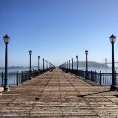 Photo taken at Pier 7 by Powen S. on 5/9/2012