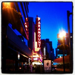 Photo taken at Paramount Center by Rachel T. on 6/18/2012