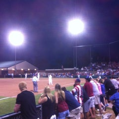 Photo taken at Marita Hynes Field at the OU Softball Complex by Brent W. on 3/31/2012