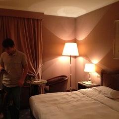 Photo taken at Doria Grand Hotel by Leonie on 8/10/2012