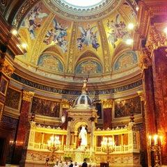 Photo taken at Szent István Bazilika by Fernando F. on 5/12/2012