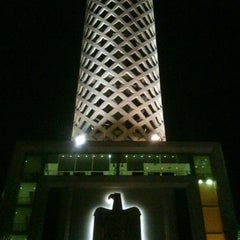 Photo taken at Cairo Tower | برج القاهرة by Muhammad A. on 8/31/2012
