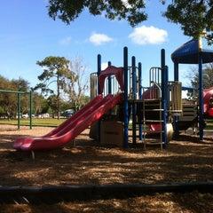 Photo taken at Downey Park by Darlene on 3/18/2012