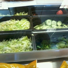 Photo taken at SUBWAY by Kelly on 3/25/2012