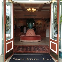 Photo taken at Napa River Inn by bill b. on 4/23/2012