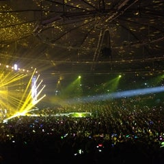 Photo taken at 올림픽체조경기장 (Olympic Gymnastics Arena) by Youngmee O. on 4/7/2012