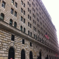 Photo taken at Federal Reserve Bank of New York by Antoine J. on 7/13/2012
