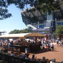 Photo taken at 2014 US Open Tennis Championships by Jason R. on 8/31/2012