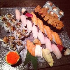 Photo taken at Sushi Palace by VJ T. on 9/13/2012