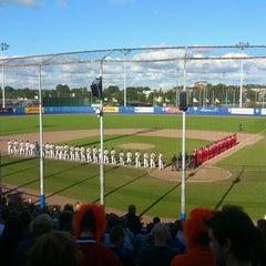 Photo taken at Pim Mulier Baseball Stadium by Marc B. on 7/20/2012