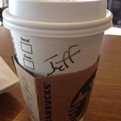 Photo taken at Starbucks by jeffery k. on 6/8/2012