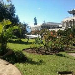 Photo taken at Universidad Rafael Landívar by Julio C. on 8/14/2012