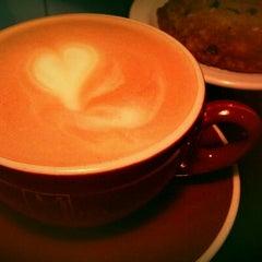 Photo taken at Anjou Bakery by kat on 10/9/2011