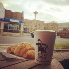 Photo taken at Uptown Espresso by Meg S. on 7/21/2012