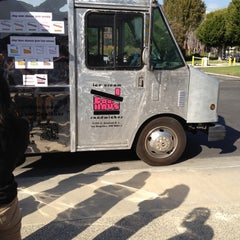 Photo taken at Coolhaus Truck by Chris T. on 2/14/2012