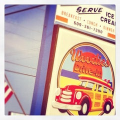 Photo taken at Woodies Drive-In by Danielle V. on 8/6/2012