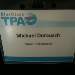 Photo taken at BlueGlass TPA by Michael D. on 9/27/2011