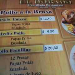 "Photo taken at Parrillada Restaurant ""El Dorado"" by Luis C. on 8/26/2012"