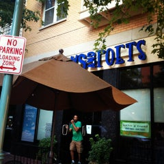 Photo taken at Busboys and Poets by Jo on 7/1/2012