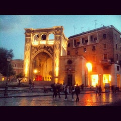 Photo taken at Piazza Sant'Oronzo by Francesco on 5/2/2012