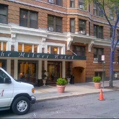 Photo taken at Milner Hotel by John N. on 5/15/2012
