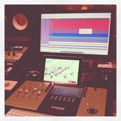 Photo taken at Ultrasuede Studio by Brian N. on 10/23/2011