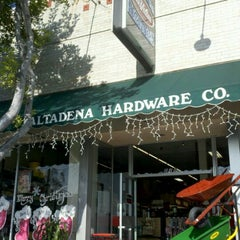 Photo taken at Altadena Hardware by Hilary C. on 12/30/2011