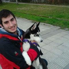 Photo taken at Plaza Das Regas by Rebeca A. on 1/26/2012
